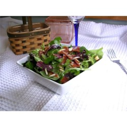 Baby Greens with a Warm Gorgonzola Dressing Recipe