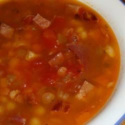 Wonderful hearty soup.