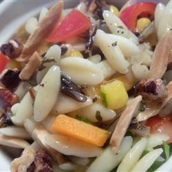 Orzo and Wild Rice Salad Recipe