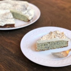 Poppy Seed Cake with Lemon Ermine Frosting