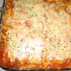 The ONLY Baked Ziti I will EVER make!