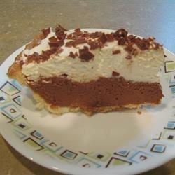 Slice of Chocolate Silk Pie - Taste of Home