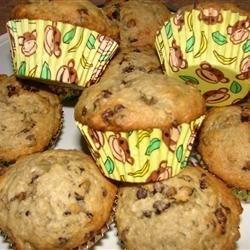 Drunk Monkey Muffins