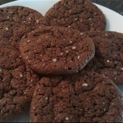 Photo of Chocolate Cookies with Fleur de Sel by Dawn Morris