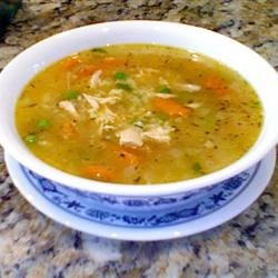 Classic Chicken and Rice Soup Recipe