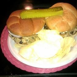 Photo of Mozzarella-Stuffed Turkey Burgers by medichick