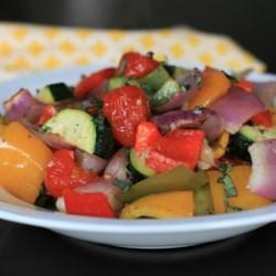 Sheet Pan Roasted Mediterranean Vegetables