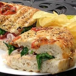 Turkey and Bacon Panini with Chipotle Mayonnaise Recipe