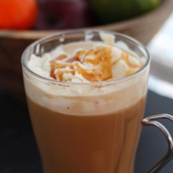 Homemade Caramel Latte