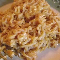 Cheesy Ramen Noodles Recipe