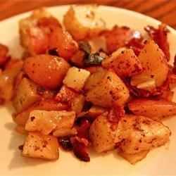 Photo of Homefried Potatoes with Garlic and Bacon by MUZIKGUY1