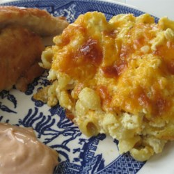 Lazy Baked Macaroni and Cheese Recipe