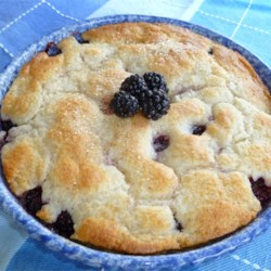 Mama's Blackberry Cobbler  Recipe