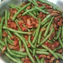 Smothered Green Beans II Recipe