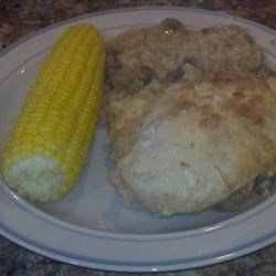 Photo of Easy Chicken and Rice with Mushrooms by Jennifer Bishop Hamm