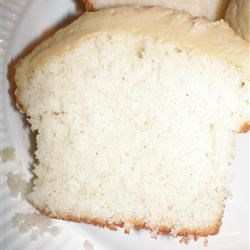 My Pound Cake Recipe