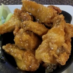 Mango-Habanero Chicken Wings