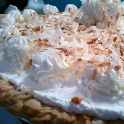 Coconut Cream Pie VI Recipe