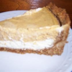 Double Layer Pumpkin Chesecake
