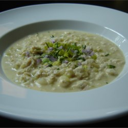 Creamy She-Crab Soup Recipe