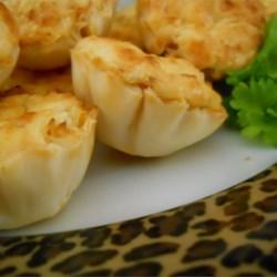 Shrimp Scampi Cheesecake Appetizer