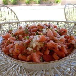 Watermelon Vidalia(R) Salsa Recipe