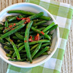 Asian-Inspired Green Beans
