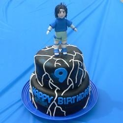 Sasuke Birthday Cake (Naruto)