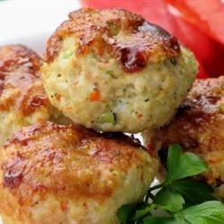 Turkey Veggie Meatloaf Cups Recipe