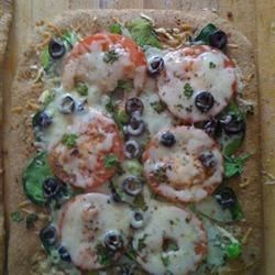 Veggie Pizza With wheat Crust