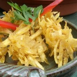 Aranitas (Shredded Green Plantain Patties)