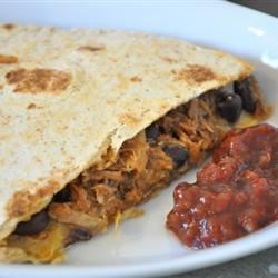 Barbeque Bacon Quesadillas