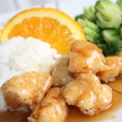 Asian Orange Chicken Recipe