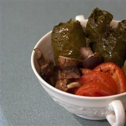Dolmas (Stuffed Grape Leaves) Recipe