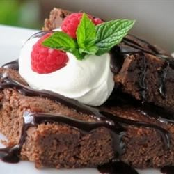 Kristin's Fudgy Brownies Recipe