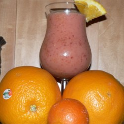 Strawberry Orange Smash Smoothie Recipe