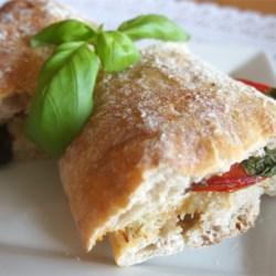 toasted caprese sandwich printer friendly