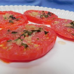 Italian Nutthouse Broiled Tomatoes
