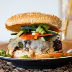 Asian Barbecue Burgers