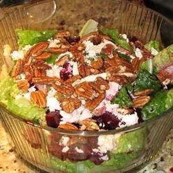 Jason Neve's (Maxine Glover's) Pecan Beet Salad