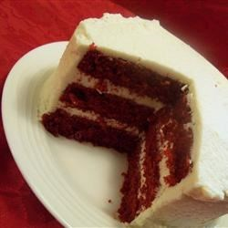 Mom's Signature Red Velvet Cake Recipe