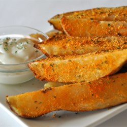 Spiced-Up Grilled Tater Wedges Recipe