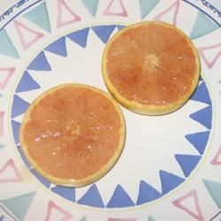 Broiled Grapefruit Recipe