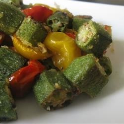 Un-Slimy Okra Recipe