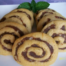Date Nut Pinwheel Cookies II Recipe