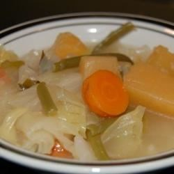 Kohlsuppe (German Cabbage Soup)