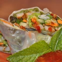 Photo of Shrimp Summer Rolls with Asian Peanut Sauce by Austin Geraldson