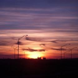 a horizon in nebraska
