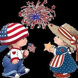 4th of July - Free Clipart