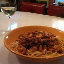 Naked Shrimp Pasta Recipe